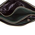 Женская сумка-клатч из экокожи EUROPE MOB (ЮЭРОП МОБ) EM2-008-4 Черная, фото 4