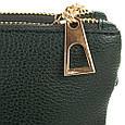 Женская сумка-клатч из экокожи EUROPE MOB (ЮЭРОП МОБ) EM2-008-4 Черная, фото 5