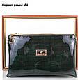 Женская сумка-клатч из экокожи EUROPE MOB (ЮЭРОП МОБ) EM2-008-4 Черная, фото 6
