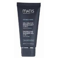 Энергетический гель-шампунь для тела и волос Reponse homme Matis 200ml