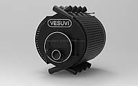 Отопительная печь калориферная «VESUVI» classic  «О2» стекло+перфорация