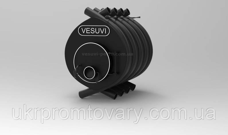 Дровяная печь калориферная «VESUVI» classic «О2», фото 2