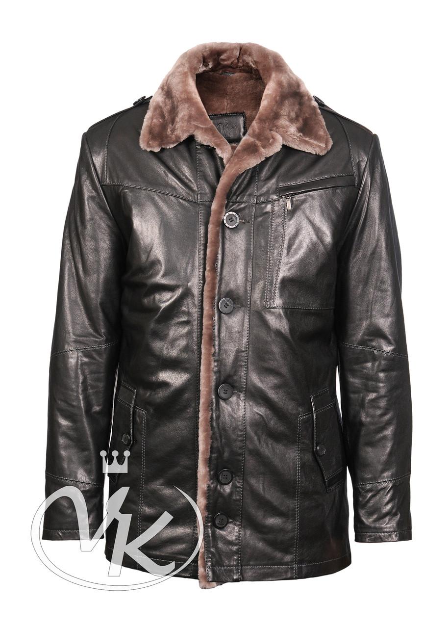 a9f3ab7f505bc Зимняя кожаная куртка мужская с мехом - Интернет магазин кожаных курток и  дубленок VK-Fason