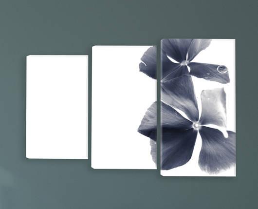 """Модульная картина """"Темный цветок"""", фото 2"""