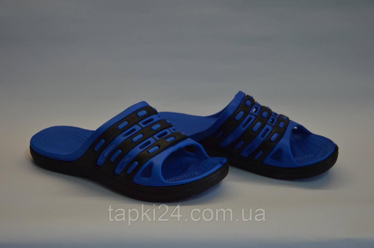 Шлепанцы мужские сланцы синие оптом Dream Stan П - 17, фото 1