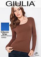Бесшовная футболка женская (Classic blue (Синий))