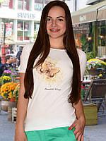 Бесшовная футболка женская (Bianco (Белый))