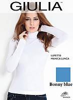 Бесшовная водолазка (Bonny blue (Голубой))