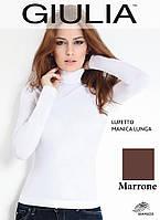 Бесшовная водолазка (Marrone (Коричневый))