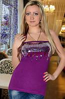 Майка женская (Фиолетовый)