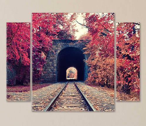 """Модульная картина """"Осеннее путешествие"""", фото 2"""