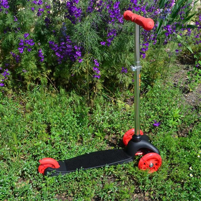 Детский самокат best scooter чёрный