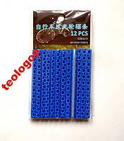 Сині світловідбивачі на спиці, палички-виручалочки, фото 1