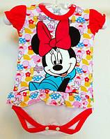 Боди Минни Маус лицензионного бренда Disney