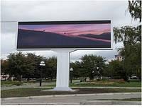 Светодиодный экран для улиц Р 16 с открытием кабинета наружу, фото 1
