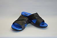 Сланцы мужские синие