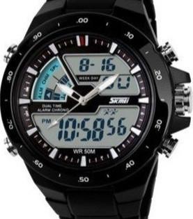 Кварцевые спортивные часы Skmei  - гарантия 6 месяцев