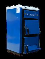 Твердотопливный котел КОРДИ АОТВ - 40 С, 40 кВт. Площадь до 400 м². Сталь 4 (мм)