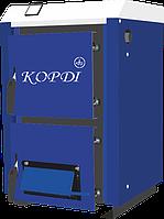 Твердотопливный котел Корди АОТВ - 10 М, 10кВт. Объем помещения до 300 м³. Улучшенный теплообменник.