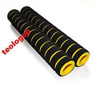 Жовті накладки на ручки коляски