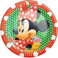 Тарелки бумажные Минни Маус-1 10шт.