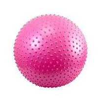 Мяч для фитнеса массажный (фитбол с шипами) 85 см, фото 1