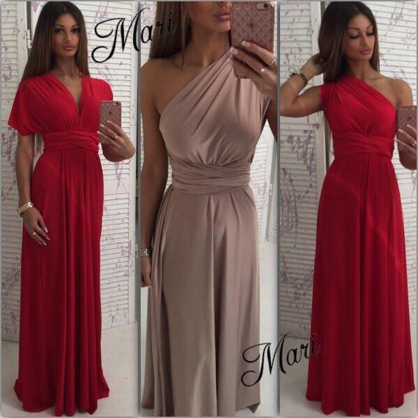 7acf6df86c7 Платье-трансформер 8 СПОСОБОВ ОДЕТЬ - купить по лучшей цене в Одессе ...