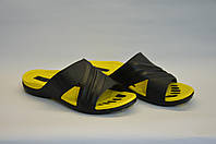 Детские шлепанцы оптом желтые ПП - 16, фото 1