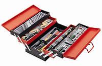 Набор инструмента 101 пр. (металлический ящик)