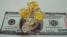 Квіти скляні висота 6 см