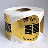 Форма для наращивания широкая универсальная золотая 500 шт