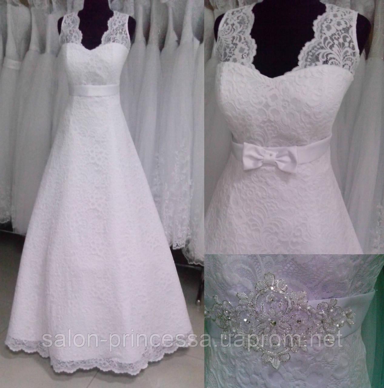 4ef32527bfc846b Свадебное платье ТМ-2016-1 (размер 46-48 белое): продажа, цена в ...