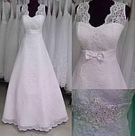 Свадебное платье ТМ-2016-1 (размер 46-48 белое)