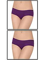 Набор женских трусов мини шорт - 2 шт. (Фиолетовый)