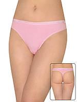 Женские трусы стринги (Розовый)