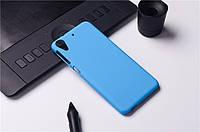 Пластиковый чехол для HTC Desire 626G dual sim голубой