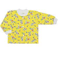 Детская кофта (Желтый, зайчиха)