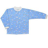 Детская кофта (Голубой, заяц)