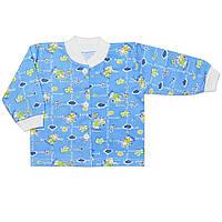 Детская кофта ( Голубой, слон)
