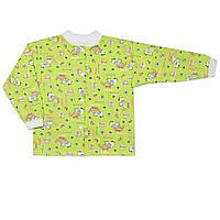 Детская кофта (Зеленый, динозавр)
