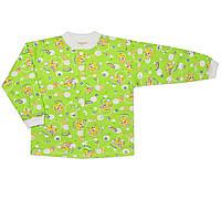 Детская кофта (Зеленый, крокодильчик)