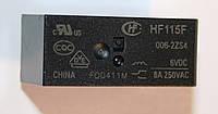 Реле HF-115F 006-2ZS4  6VDC