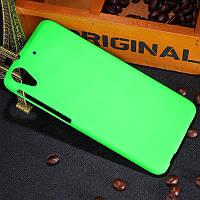 Пластиковый чехол для HTC Desire 626G dual sim зелёный