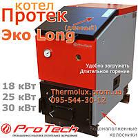 Котел длительного горения Протек Эко Лонг 30 (Protech) на твердом топливе