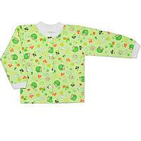 Детская кофта  (Зеленый, ежик)