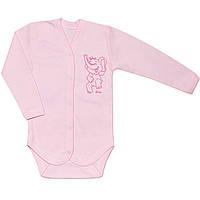 Детское боди (Розовый, слон)