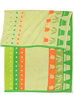 Банное махровое полотенце  (Зеленый)