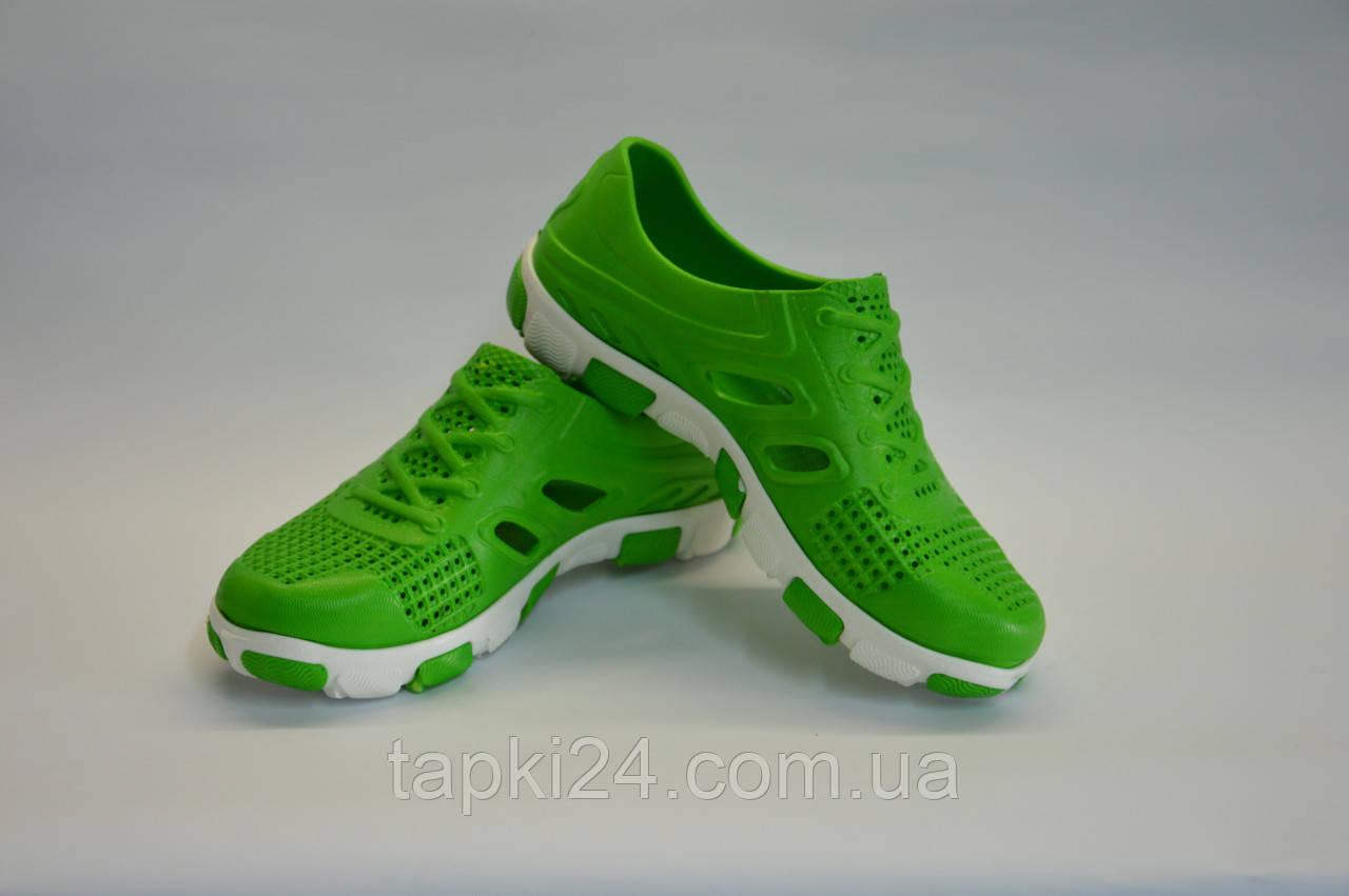 кроссовки подростковые пенка оптом (зеленые), фото 1