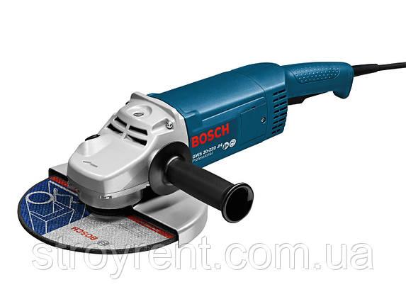 Угловая шлифмашина Bosch Professional GWS 20-230 H - аренда прокат, фото 2