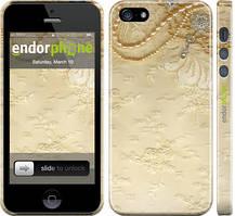 """Чехол на iPhone 5 Кружевной орнамент """"2160c-18"""""""